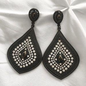 BEBE | Rhinestones earrings